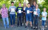 Siegerehrung für die Mathematik-Asse im Känguru-Wettbewerb 2018.