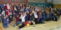 Riesenjubel bei den Siegermannschaften der Grundschule Bad Laasphe