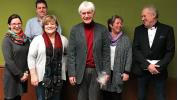 Die Verabschiedung von Lehrer Dieter Nubling fand in lockerer und gelöster Stimmung statt.